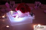Table Centerpieces in Miami at the January 28, 2010 Internet Dating Industry Awards