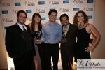 Match.com Executives with 2 Awards (Best Dating Site and Best Dating Site Design) at the 2010 iDate Awards Ceremony