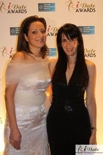 Ravit Ableman and Julie Spira at the 2010 Miami iDate Awards