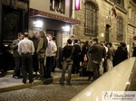 Business Networking bei Abendpartie