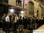 Business Networking auf der Abendpartie