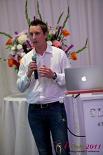 Chas McFeely (CEO of HuookChasUp.com) at the June 22-24, 2011 California Online and Mobile Dating Industry Conference