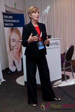 Ann Robbins (CEO of eDateAbility) at the 2011 California Internet Dating Summit and Convention