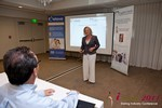 Julie Ferman (CEO of Cupid 's Coach) at the June 22-24, 2011 California Online and Mobile Dating Industry Conference