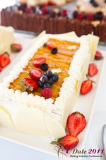 Dessert (Thanks to the SLS Chef) at iDate2011 California