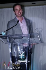 Lance Barton - IAC/ Match.com - Winner of Best Marketing Campaign 2012 at the 2012 iDateAwards Ceremony in Miami held in Miami Beach