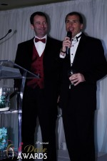Mark Brooks and Marc Lesnick at the 2012 iDate Awards