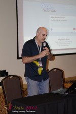 Daniel Gudema - CEOOops I'm Single at the January 23-30, 2012 Internet Dating Super Conference in Miami