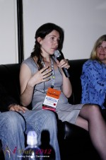 iDate2012 Dating Industry Final Panel - Tanya Fathers at the January 23-30, 2012 Internet Dating Super Conference in Miami
