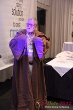 Jonathan Crutchley (Chairman at Manhunt) is actually Obi Wan Kenobi! at the June 20-22, 2012 Mobile Dating Industry Conference in Beverly Hills
