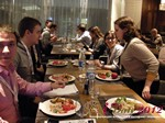 Lunch at the 2012 Russian Internet Dating Industry Conference in Moscow