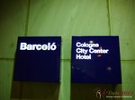 The Barcelo Hotel at the September 16-17, 2013 Mobile and Online Dating Industry Conference in Koln