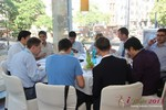 Lunch at the September 16-17, 2013 Mobile and Internet Dating Industry Conference in Koln