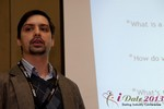 Arthur Malov (Internationl Dating Coach Association) at the January 16-19, 2013 Las Vegas Internet Dating Super Conference