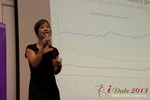 Charisma Levonleigh  (Google) at the 10th Annual iDate Super Conference