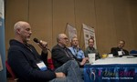 Steve Carter (VP of eHarmony) at the Dating Disruption Methods Panel at Las Vegas iDate2013