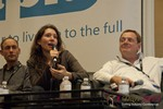 Tanya Fathers (CEO of DatingFactory) at the January 16-19, 2013 Internet Dating Super Conference in Las Vegas