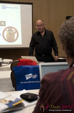 Neil Schwartzman (President at Message Bus) at the January 16-19, 2013 Las Vegas Internet Dating Super Conference