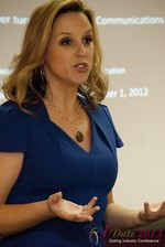 Rachel DeAlto (The Flirt Expert) at the 33rd International Dating Industry Convention