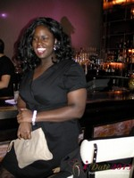 Charreah Jackson (Essence Magazine) at the Shadow Bar Party at iDate2013 Las Vegas
