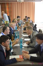 Speed Networking Among Dating Industry Executives  at the 2014 E.U. Online Dating Industry Conference in Köln