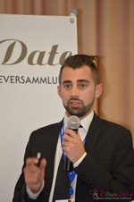Matthew Banas, CEO of NetDatingAssistant  at the 2014 E.U. Online Dating Industry Conference in Köln