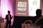 Syuzi Pakhchyan Of Fashioning Technology Keynote Presentation On Wearable Technology at the June 4-6, 2014 Mobile Dating Industry Conference in Beverly Hills