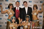 Mark Brooks & Markus Frind  at the 2014 iDateAwards Ceremony in Las Vegas
