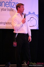 Dr. Jeff Collier - CEO of MateSafe at the 2014 Las Vegas Digital Dating Conference and Internet Dating Industry Event