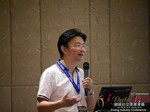 Dr. Song Li - CEO of Zhenai at the 2015 China Asia Mobile and Internet Dating Expo and Convention
