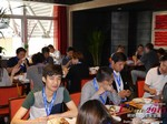 Lunch at the May 28-29, 2015 China Asia Online and Mobile Dating Industry Conference