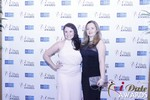 Genevieve Zawada and Sarah Ryan in Las Vegas at the 2015 Online Dating Industry Awards