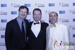 eHarmony's Grant Langston with Mark Brooks and Marc Lesnick at the 2015 Internet Dating Industry Awards Ceremony in Las Vegas