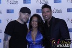 Sean Christian, Carmelia Ray and Doron Kim at the 2015 iDateAwards Ceremony in Las Vegas held in Las Vegas