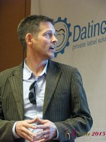 Justin Parfitt - CEO of HeyLets at the 40th International Dating Industry Convention