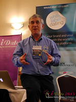 Dave Wiseman Vice President Of Sales And Marketing Speaking To The European Dating Market On Scam Detection Technology at iDate2015 London