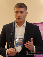 Hristo Zlatarsky CEO Elitebook.bg With Insights On The Bulgarian Mobile And Online Dating Market at the 12th Annual E.U. iDate Mobile Dating Business Executive Convention and Trade Show