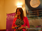 Juliette Prais CEO of Pink Lobster Dating Speaking at CEO Therapy at iDate2015 Europe