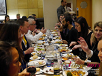Lunch Among European And Global Dating Industry Executives   at the E.U. iDate conference and expo for matchmakers and online dating professionals in 2015