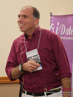 Marc Lesnick Speaking On Utail And Social Promotion For Dating Operators   at the 12th annual E.U. iDate conference matchmakers and online dating professionals in London