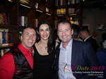 Networking Party At The Library In London For UK Dating And Match Making CEOs And Owners  at the 12th annual E.U. iDate conference matchmakers and online dating professionals in London