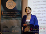 Pauline Tourneur General Manager Of Attractive World Speaking On The French Online And Mobile Dating Market  at the 2015 iDate Mobile, Online Dating and Matchmaking conference in London