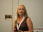 Krystina Trushnya - Publisher of Ukranian Dating Blog at the iDate P.I.D. Business Executive Convention and Trade Show