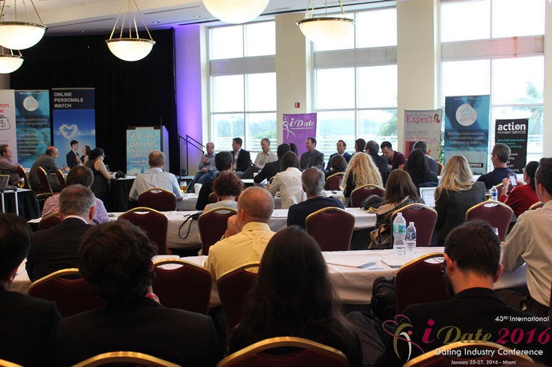 Final Panel for Professionals at the 43rd idate international global dating industry conference