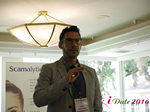 John Volturo (CMO, Spark Networks)  at the 38th Mobile Dating Indústria Conference in Califórnia