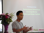 Monty Suwannukul (Product designer at Grindr)  at the 38th Mobile Dating Indústria Conference in Califórnia