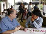 Networking  at the June 8-10, 2016 Mobile Dating Indústria Conference in Califórnia