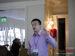Shang Hsui Koo(CFO, Jiayuan)  at the 38th iDate Mobile Dating Industry Trade Show
