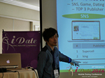Takuya Iwamoto (Diverse-yyc-co-jp)  at the June 8-10, 2016 Mobile Dating Indústria Conference in Califórnia