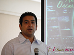 Tushar Chaudhary (Associate director at Verizon)  at the 38th Mobile Dating Industry Conference in Beverly Hills